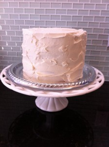 Stucco style, quickie frosting
