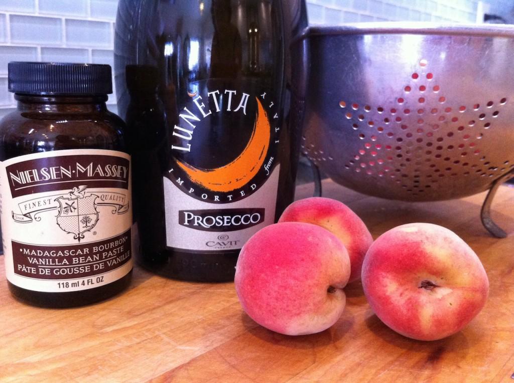 Peaches & Prosecco