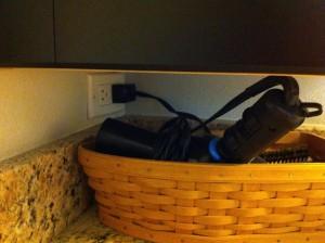 Hidden plugs - another good call.