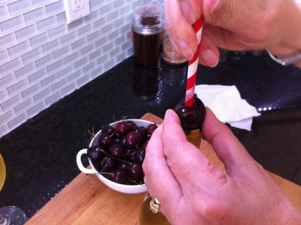 Cherry pitting 101