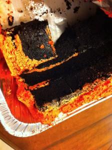 Wedding Cake Zombie leftovers!