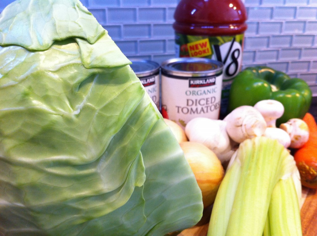 Step 1 - Get a ton of veggies!