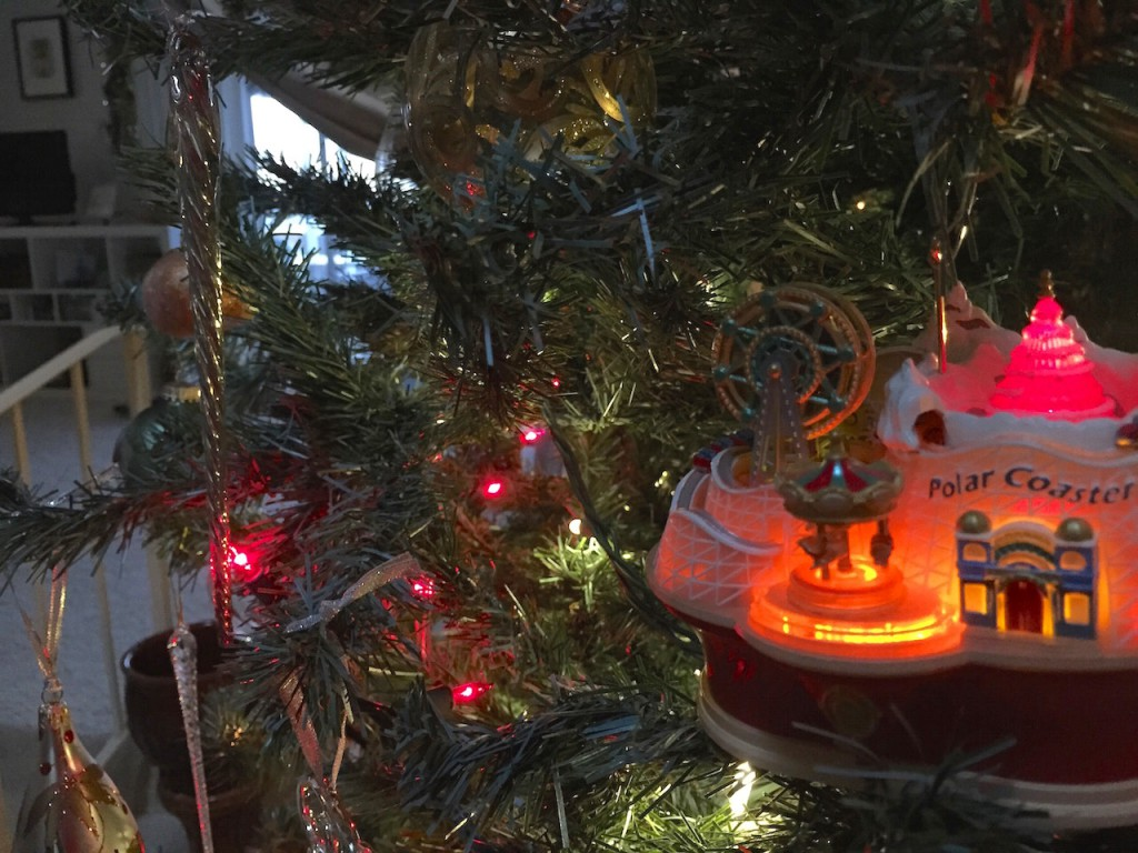 Ornaments that move were a tradition that Nani Beal had an William loved. Now we have them too.