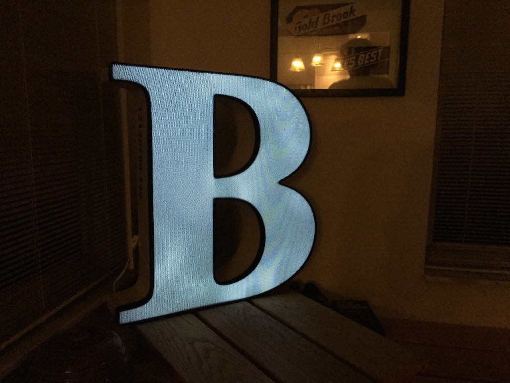 What a cool nightlight - and they're LED's.
