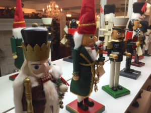 The nutcrackers are back too