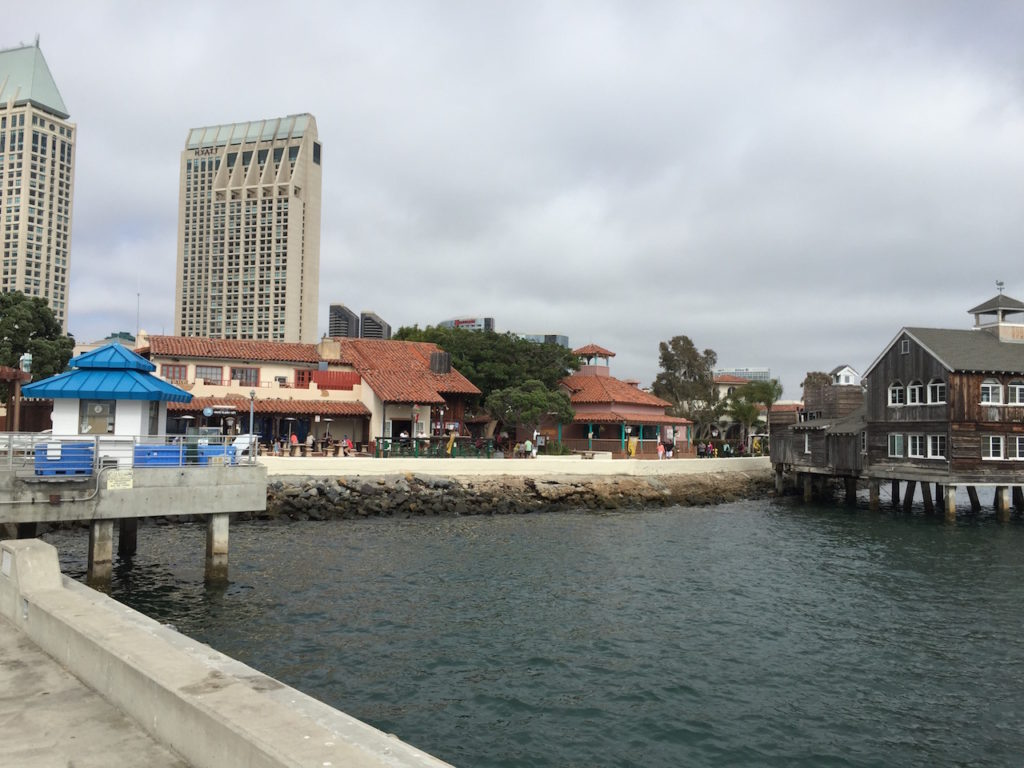 Seaport Village was the best sort of 'tourist trap'.