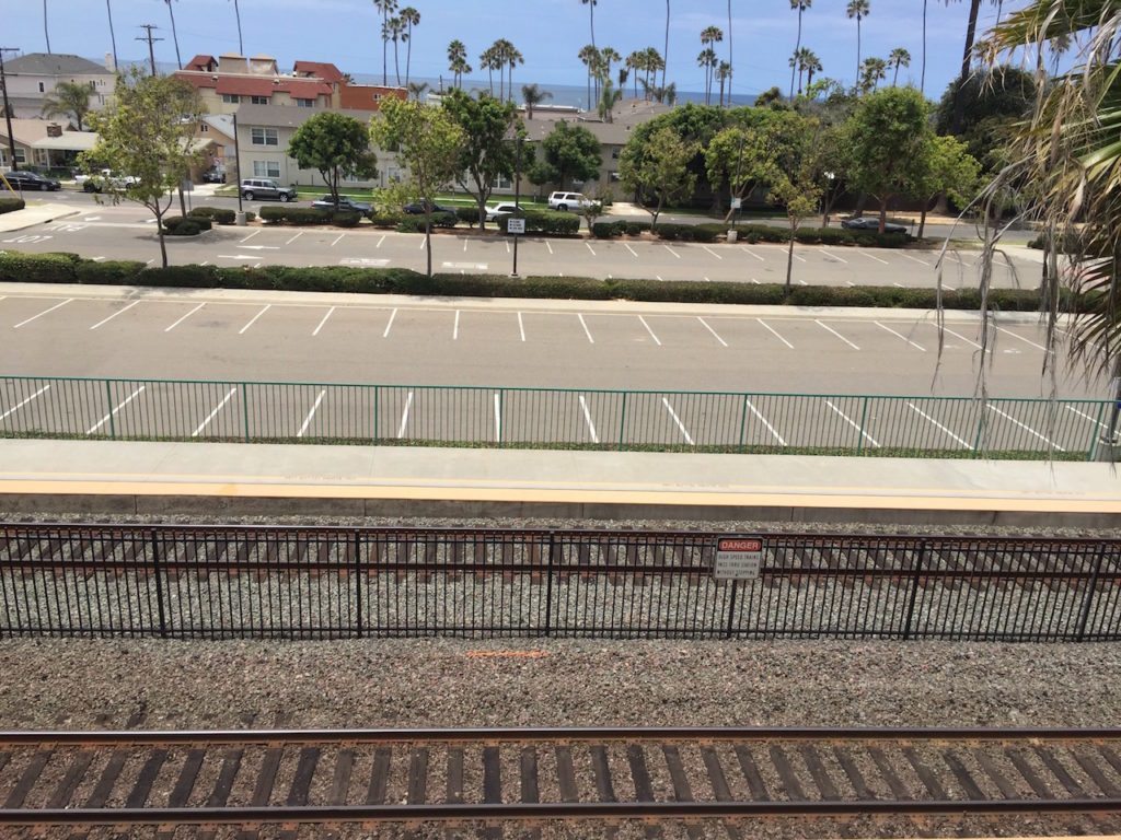 Tracks at Oceanside are actuallly ocean-side!